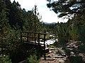 Footbridge over the Allt Mor - geograph.org.uk - 989287.jpg