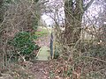 Footbridge to Lamb's Cross - geograph.org.uk - 1209083.jpg