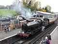 Footplate experience train at Bridgnorth (geograph 4704401).jpg