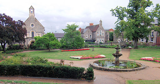 Forbury Gardens, Reading - Berkshire