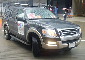 CIVT-DT - A Ford Explorer vehicle from CTV Vancouver