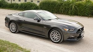 Ford Mustang (sixth generation) - Image: Ford Mustang Fastback 2015 Model