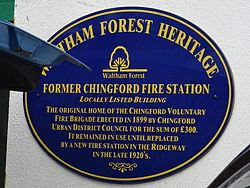 Former chingford fire station (waltham forest heritage)