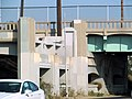 Former bridge abutment of Redondo Beach-Del Rey Line, July 2017.JPG