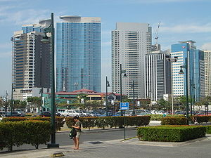 Fort Bonifacio in Taguig City