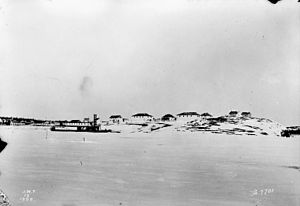 Fort Chipewyan - Fort Chipewyan 1900 and SS Grahame