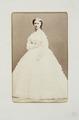 Fotografiporträtt på Bertha Rohtlieb, 1865 - Hallwylska museet - 107666.tif
