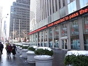1211 Avenue of the Americas - Fox News Studios at street level