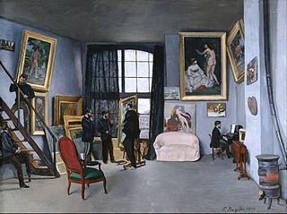 Bazille's Studio