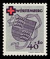 Fr. Zone Württemberg 1949 43A Rotes Kreuz.jpg
