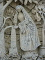 Fr Grand Good wife and good mother gravestone Woman detail.jpg