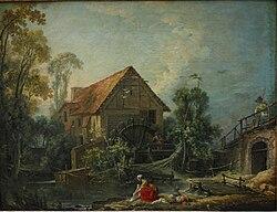 François Boucher: The Mill