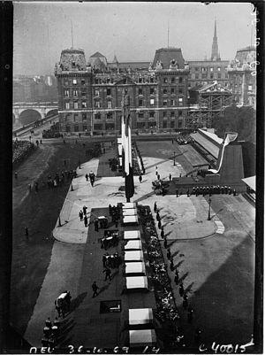 Jean-Baptiste Charcot - Image: France, Jean Baptiste Charcot, funeral, 1936