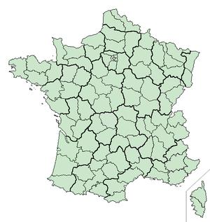 Posizione di Nizza  in Francia