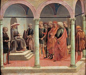 Francesco Pesellino - Scene from the secular Story of Griselda, ca 1450