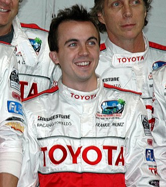 Frankie Muniz - Muniz at the Toyota Pro/Celebrity Race in 2011