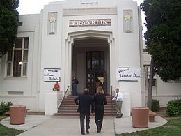 Franklin Elementary School in Santa Ana, California