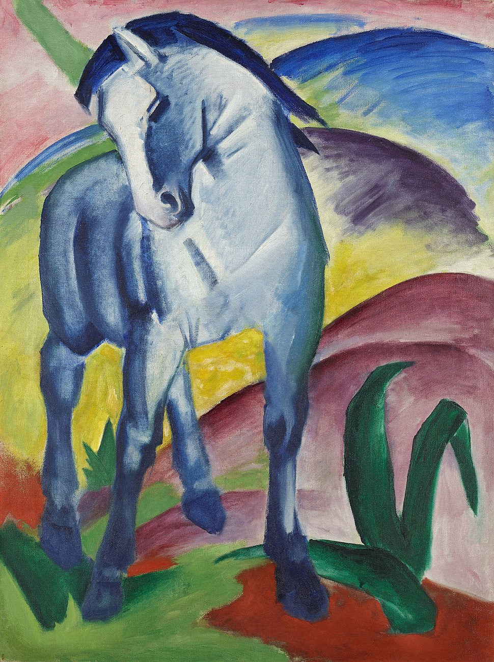 Franz Marc Blaues Pferd 1911