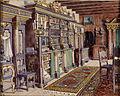 Franz Poledne Interieur Burg Kreuzenstein Bibliothek.jpg
