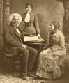 Frederick Douglass - Helen Pitts Douglass (right) her sister Eva Pitts (center).png