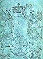 Frederik V's monogram på kanon.jpg