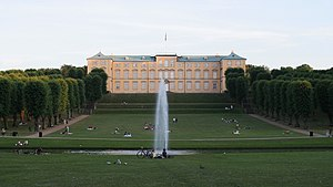Frederiksberg - Frederiksberg Palace seen from the park
