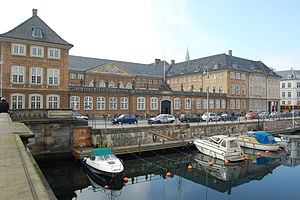 Prince's Mansion, Copenhagen - The building seen from across Frederiksholms Kanal