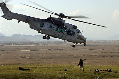French Army Cougar helicopter- Afghanistan.jpg