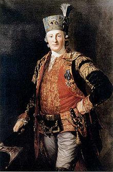 Friedrich Anton von Heynitz, Gemälde von Anton Graff, 1772 (Quelle: Wikimedia)