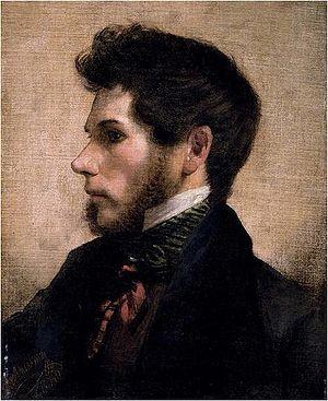 Friedrich von Amerling - Friedrich von Amerling (Self-portrait, 1834)