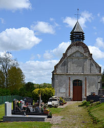 The church in Frohen-sur-Authie