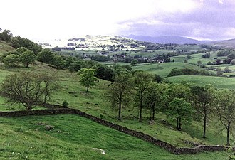 Staveley, Cumbria - Taken on Lily Fell looking west-northwest towards Banner Rigg