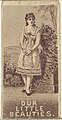 From the Actresses series (N57) promoting Our Little Beauties Cigarettes for Allen & Ginter brand tobacco products MET DP839405.jpg