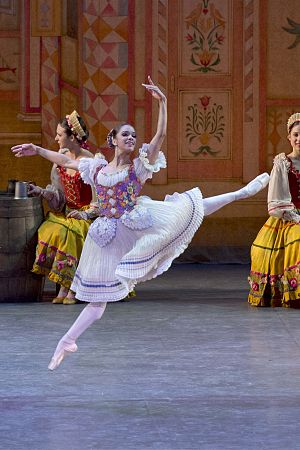 Misty Copeland - Copeland in Coppélia in 2014