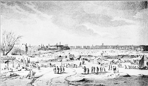 Frost Fair, Thames River