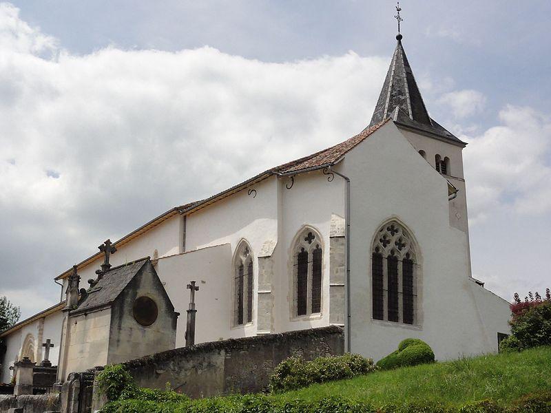 Froville (M-et-M) Prieuré, église, extérieur