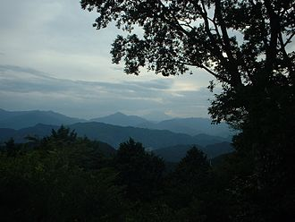 Mount Takao - View from Mount Takao