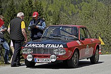 Photographie d'une Lancia Fulvia HF S2
