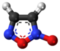 Furoxan molecule ball.png
