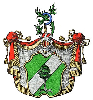 Johan Hampus Furuhjelm - Ancestral coat of arms of Furuhjelm