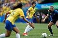 Futebol feminino olímpico- Brasil e Suécia no Maracanã (29033095375).jpg