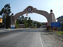 Welcome arch at the La Union-Ilocos Sur border