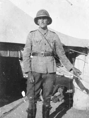 Hudson Fysh - Hudson Fysh in Palestine, during World War I