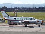 G-FCSL Piper Navajo Chieftan (26125243102).jpg