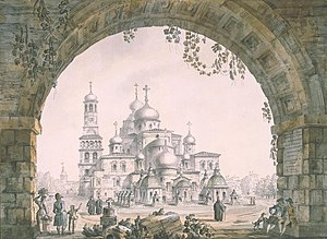 New Jerusalem Monastery - The New Jerusalem Monastery in Russia