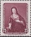 GDR-stamp Saskia Rembrandt 1957 Mi. 590.JPG