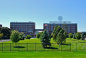 Schenectady, New York - Former GE headquarters building