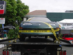 One of the EV1 all-electric cars that escaped ...