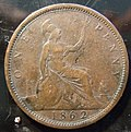 GREAT BRITAIN, VICTORIA 1862 -PENNY a - Flickr - woody1778a.jpg