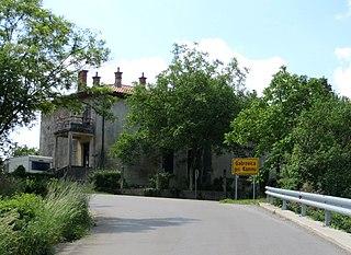Gabrovica pri Komnu Place in Slovene Littoral, Slovenia